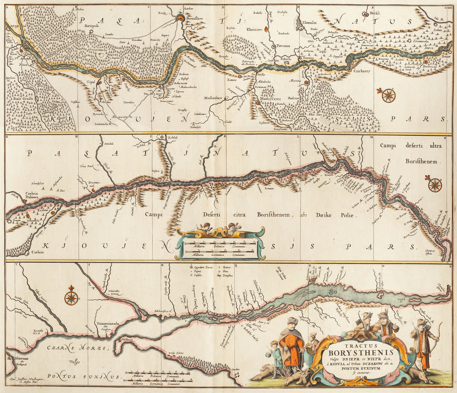Tractus Borysthenis 1680
