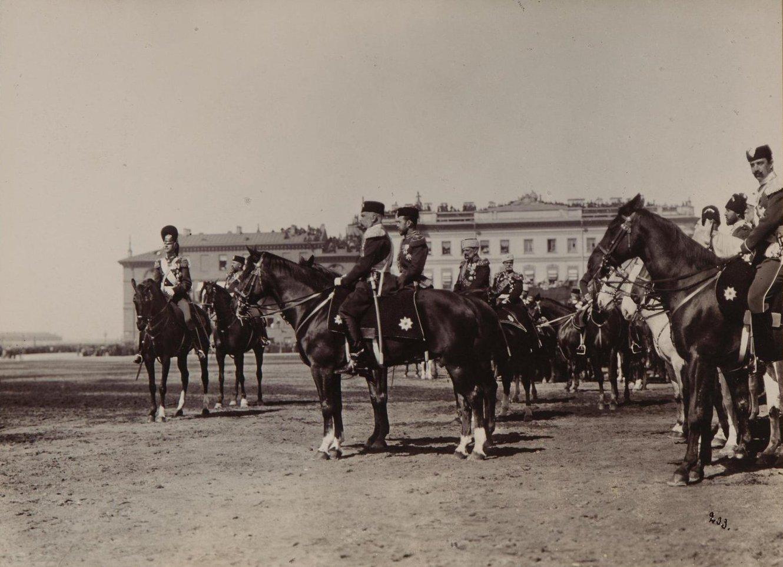 1897. Император Николай II с императором Австро-Венгрии Францем-Иосифом I.jpg