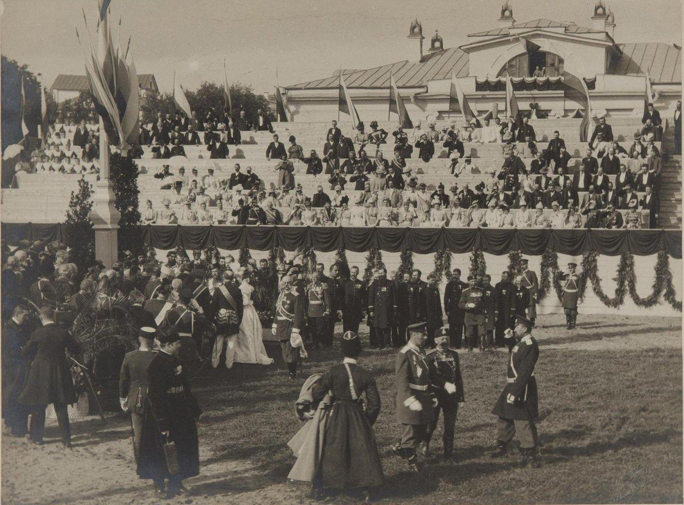 1899. Закладка музея изящных искусств имени императора Александра III в присутствии императора Николая II.jpg