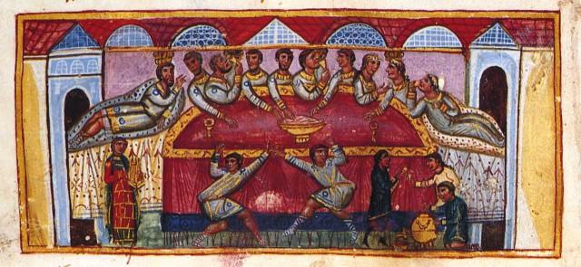 Искусство византии книжная миниатюра
