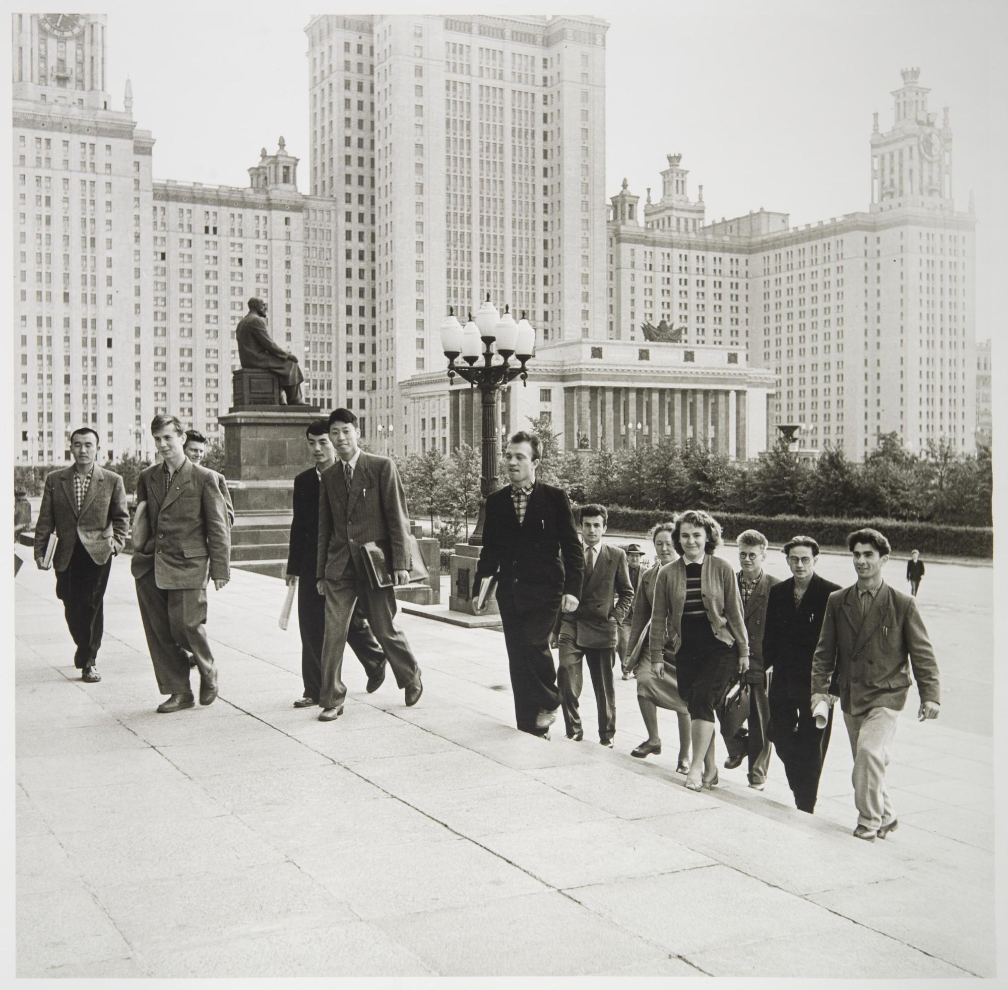 1954. Первые студенты МГУ