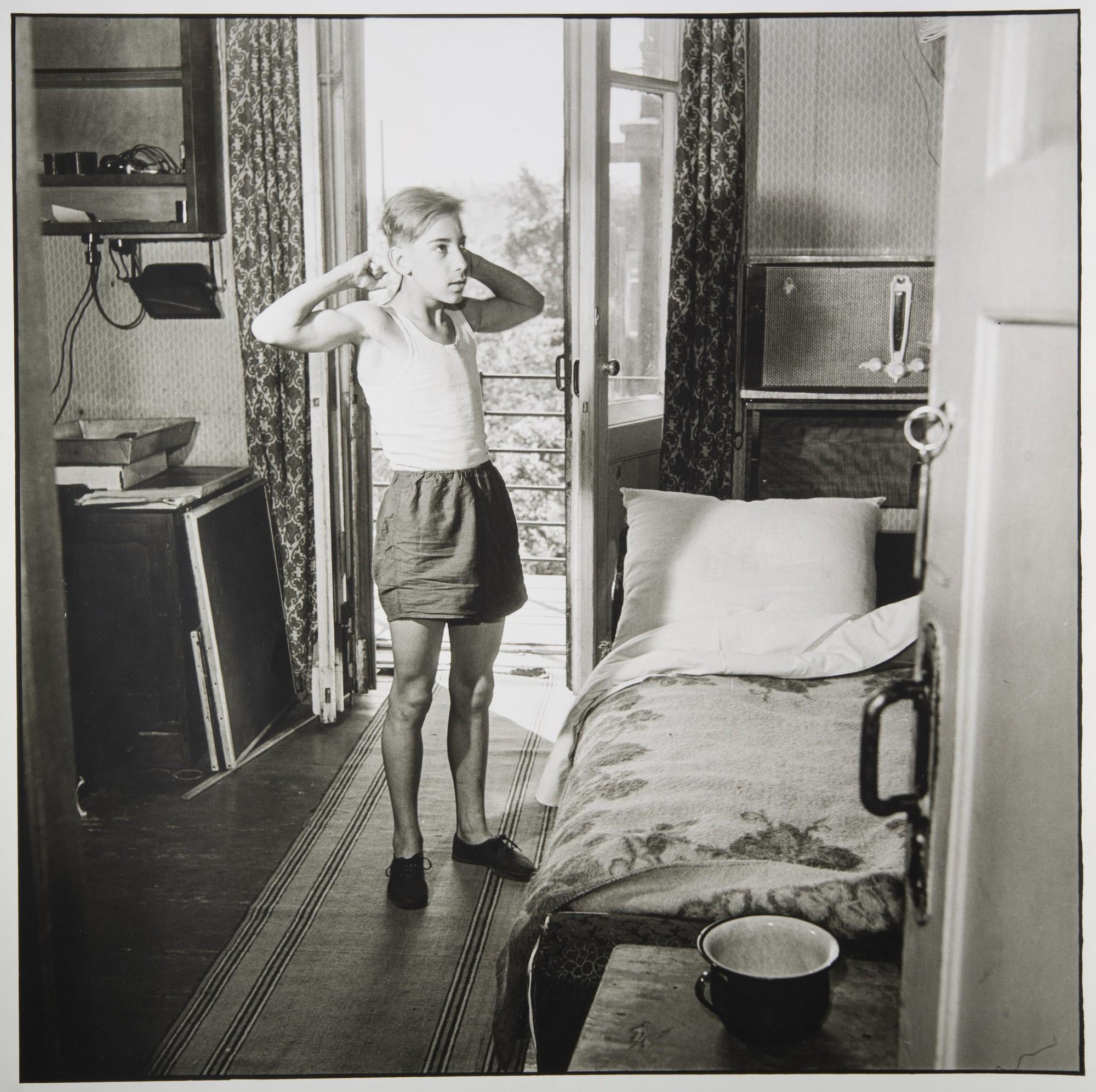 1956. Утренняя зарядка