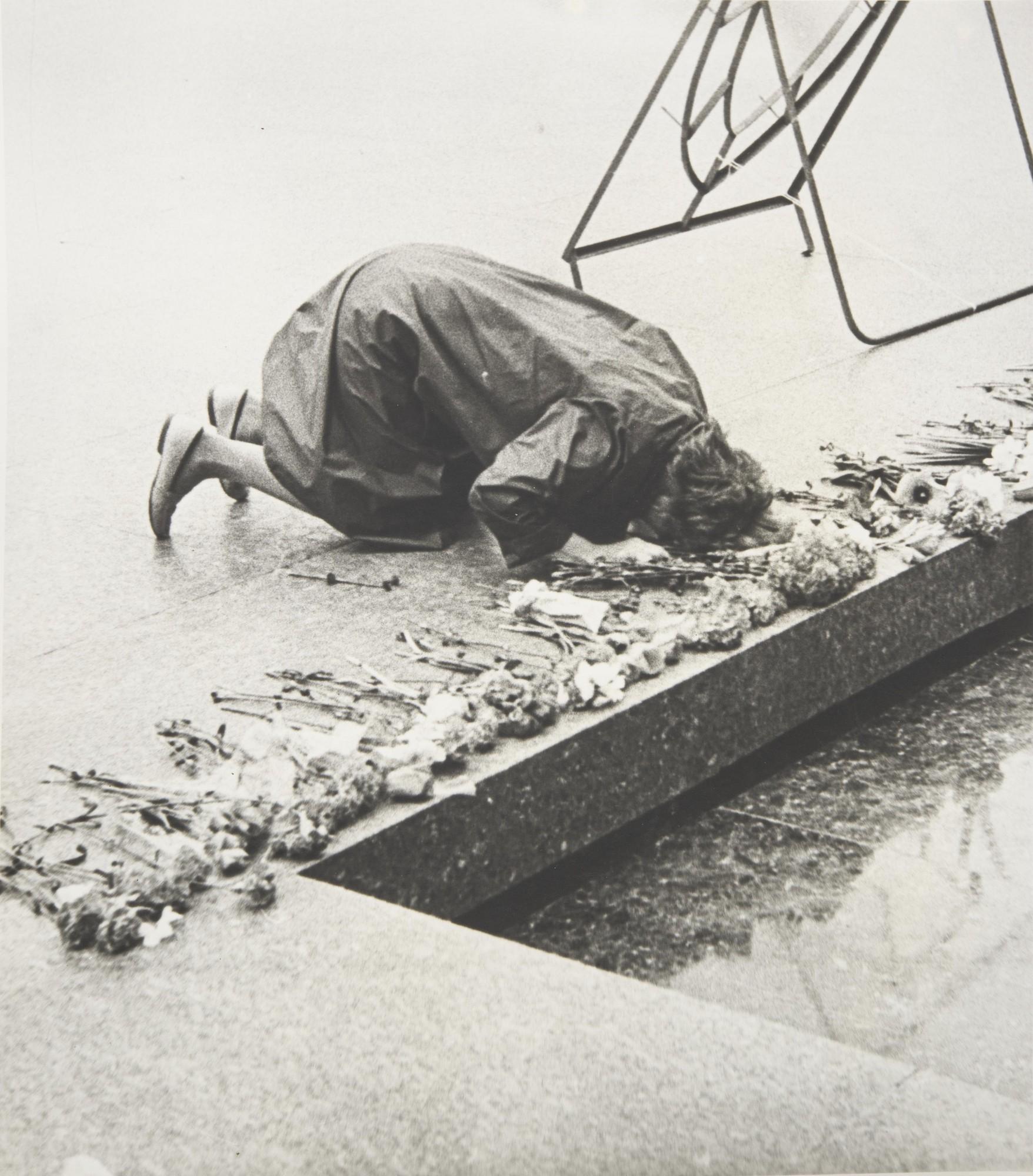1960-е. У могилы неизвестного солдата
