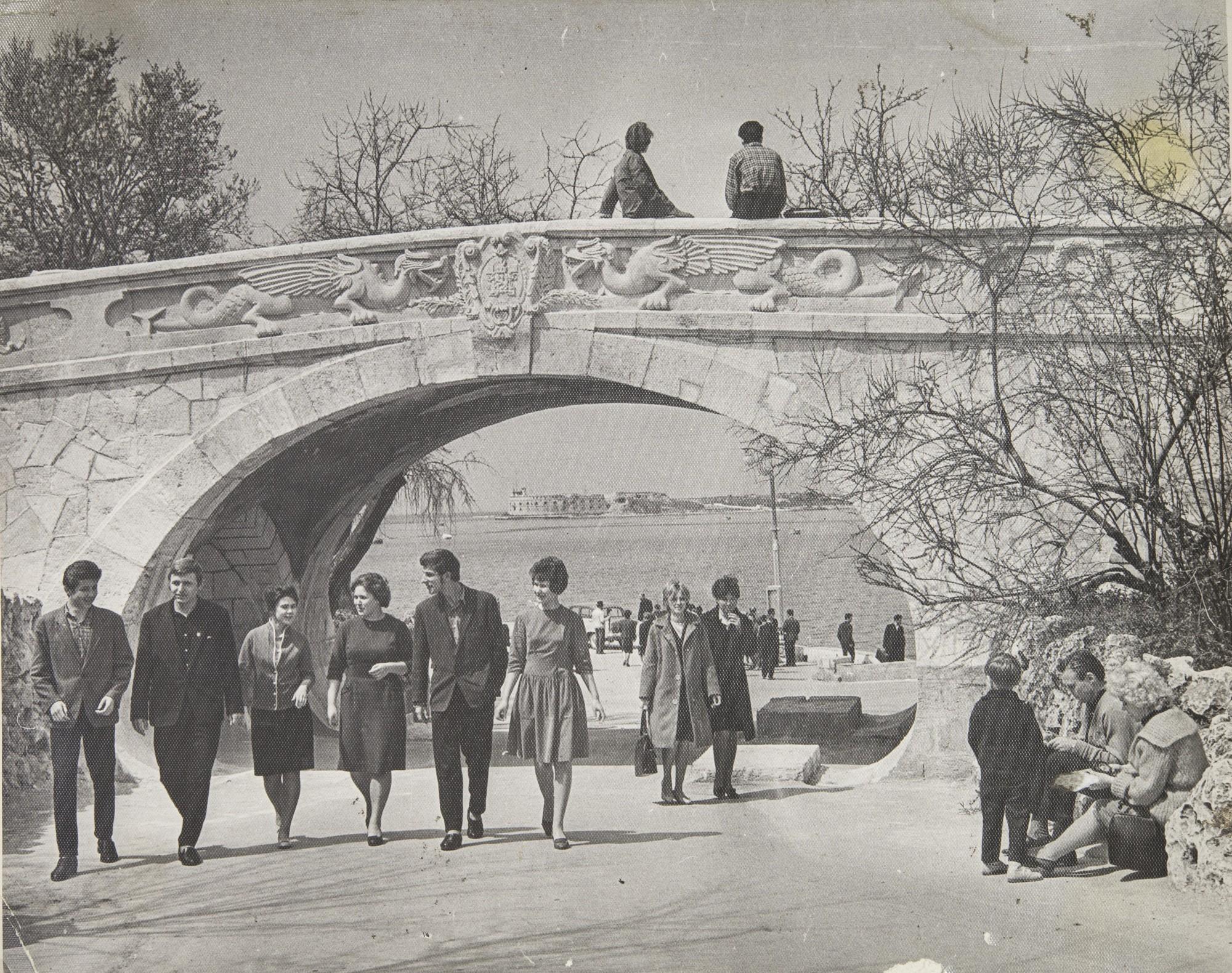 1962. На набережной
