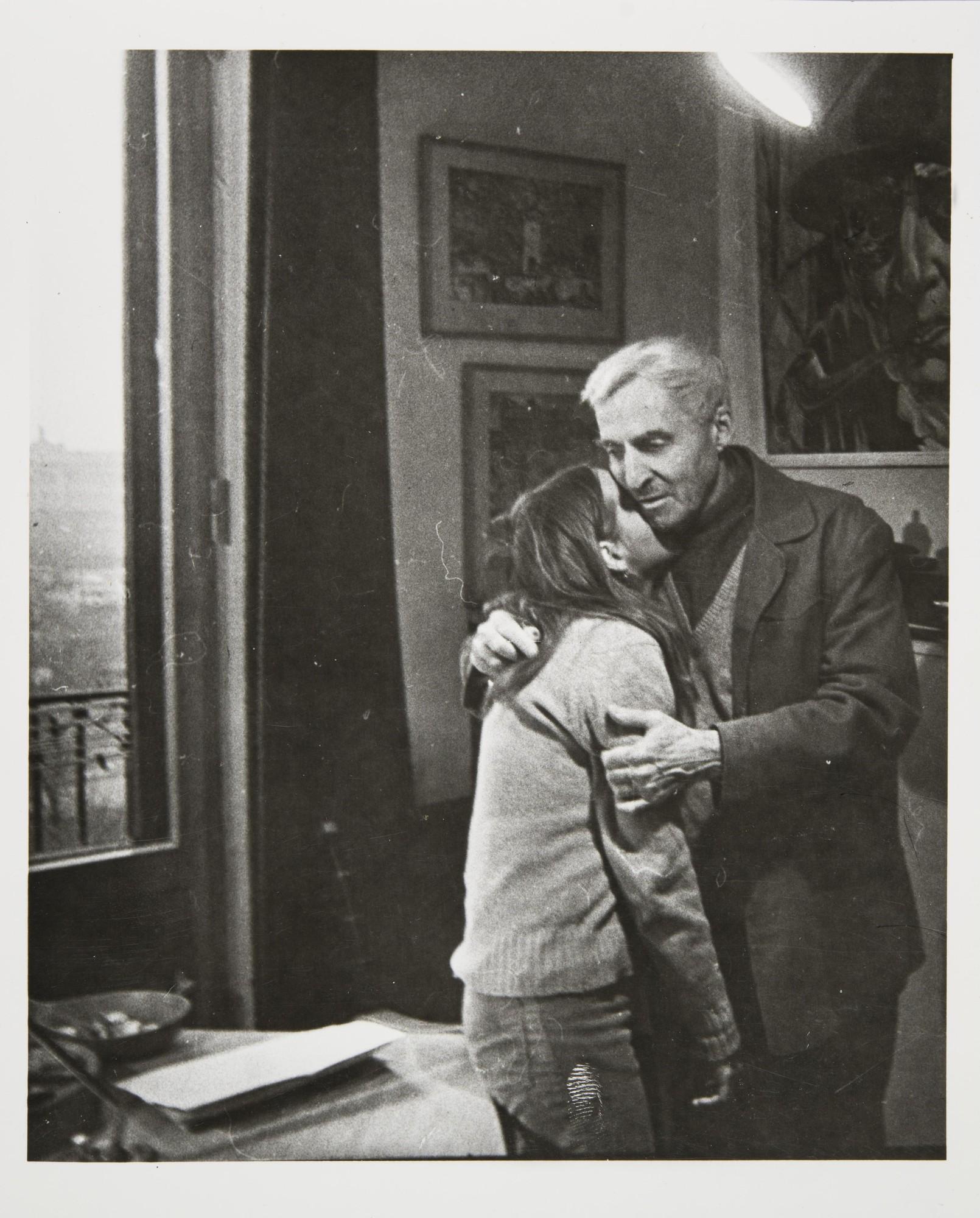 1978. Константин Симонов с дочерью Сашей
