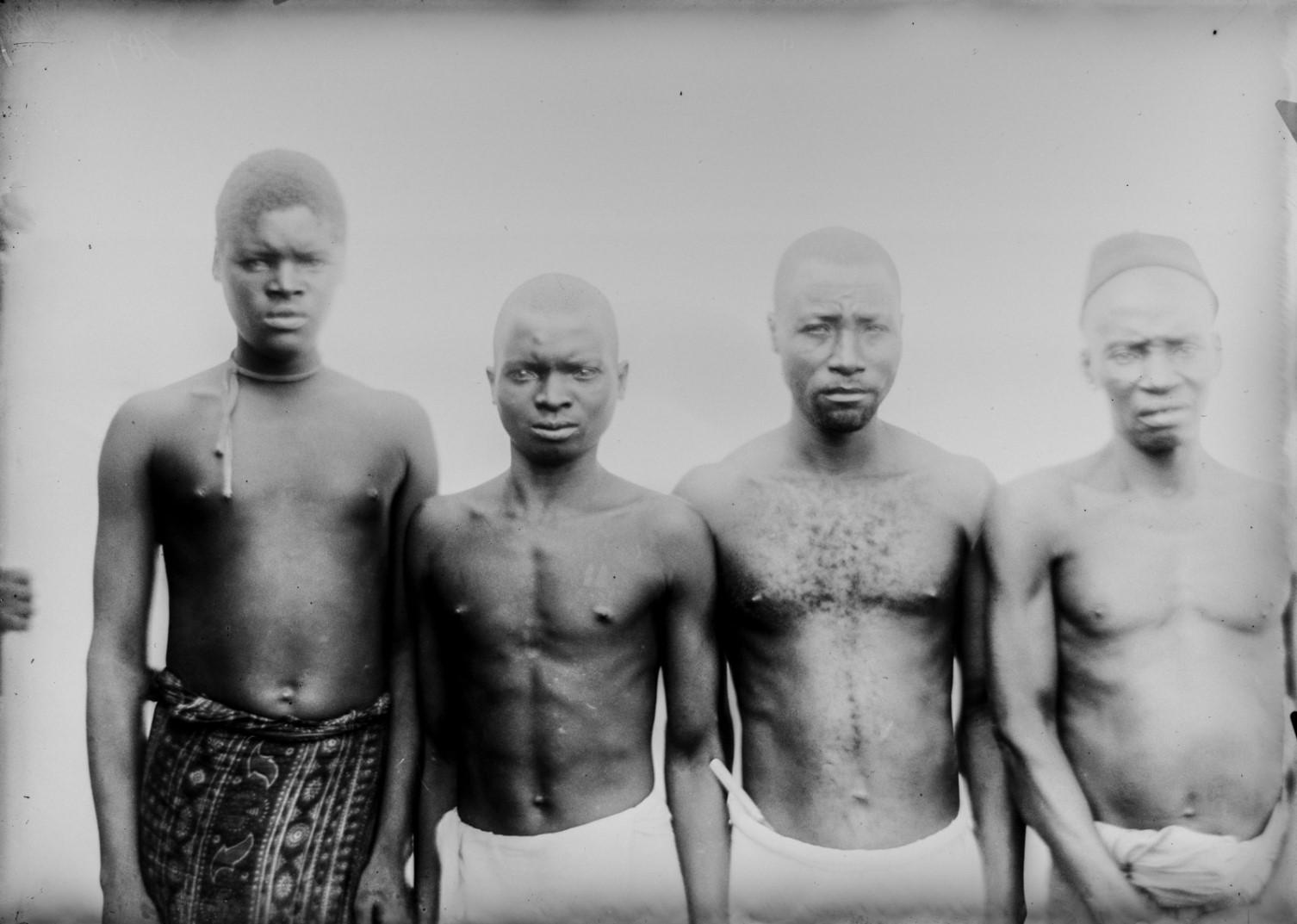 109. Антропометрическое изображение четырех мужчин Ньясы.jpg