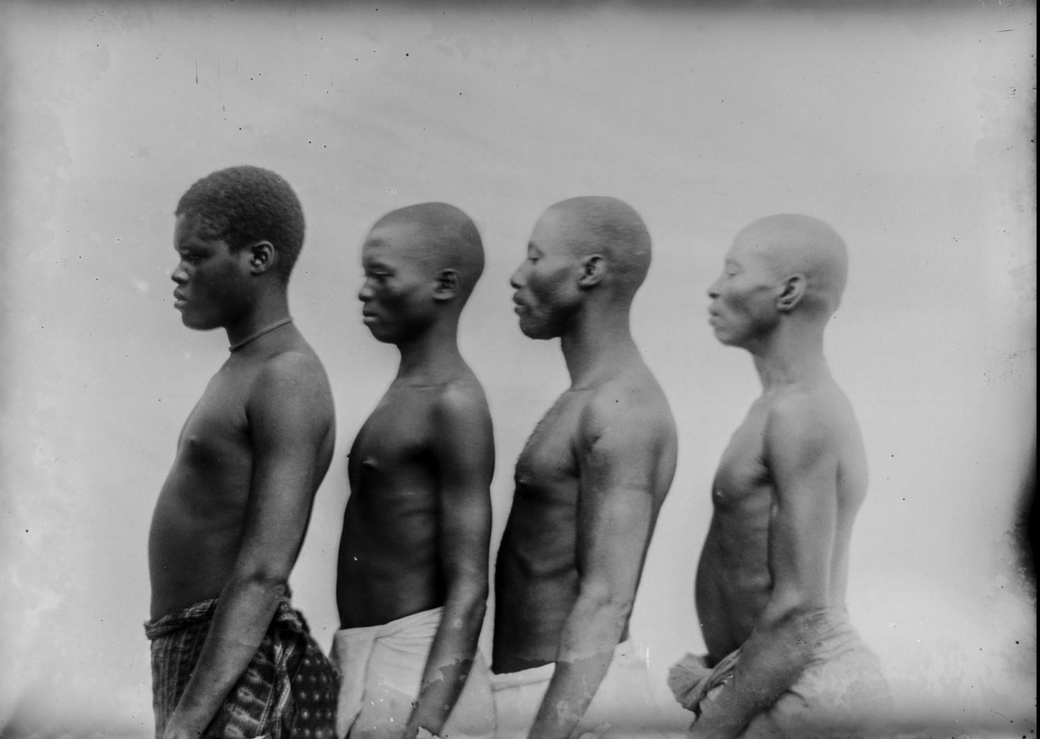 110. Антропометрическое изображение четырех мужчин Ньясы.jpg