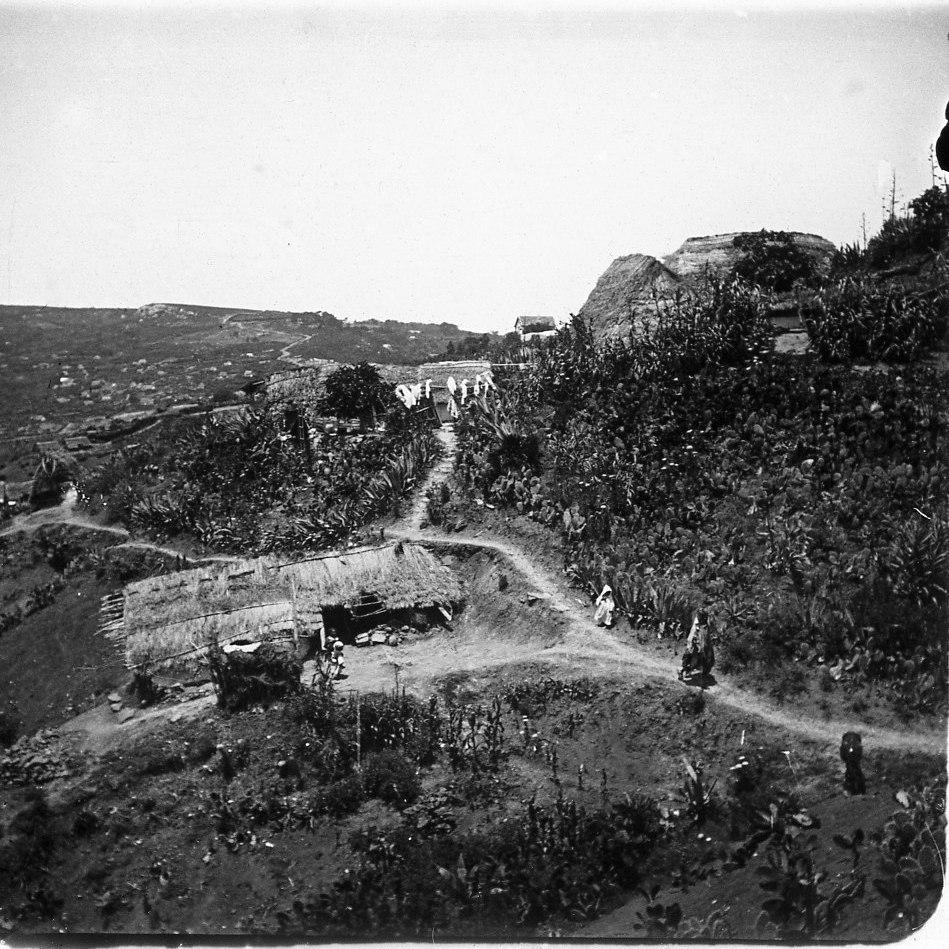 Окрестности Танжера. Негритянская деревня