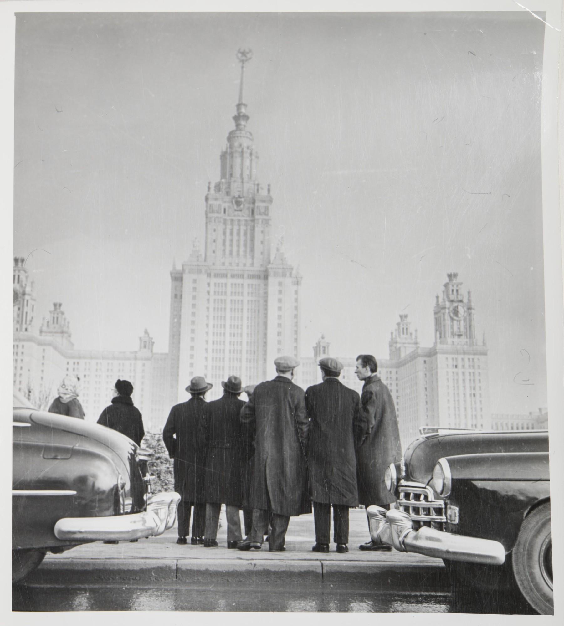 1953. Новое здание МГУ на Ленинских горах.jpg