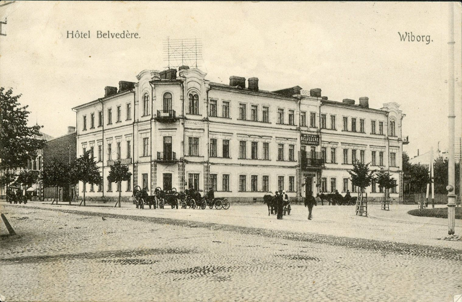 Гостиница Бельведер