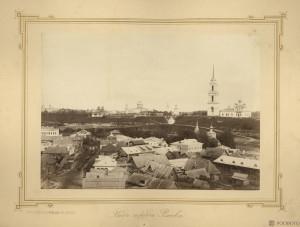 Панорама Ржева (снято с Князь-Федоровской стороны)