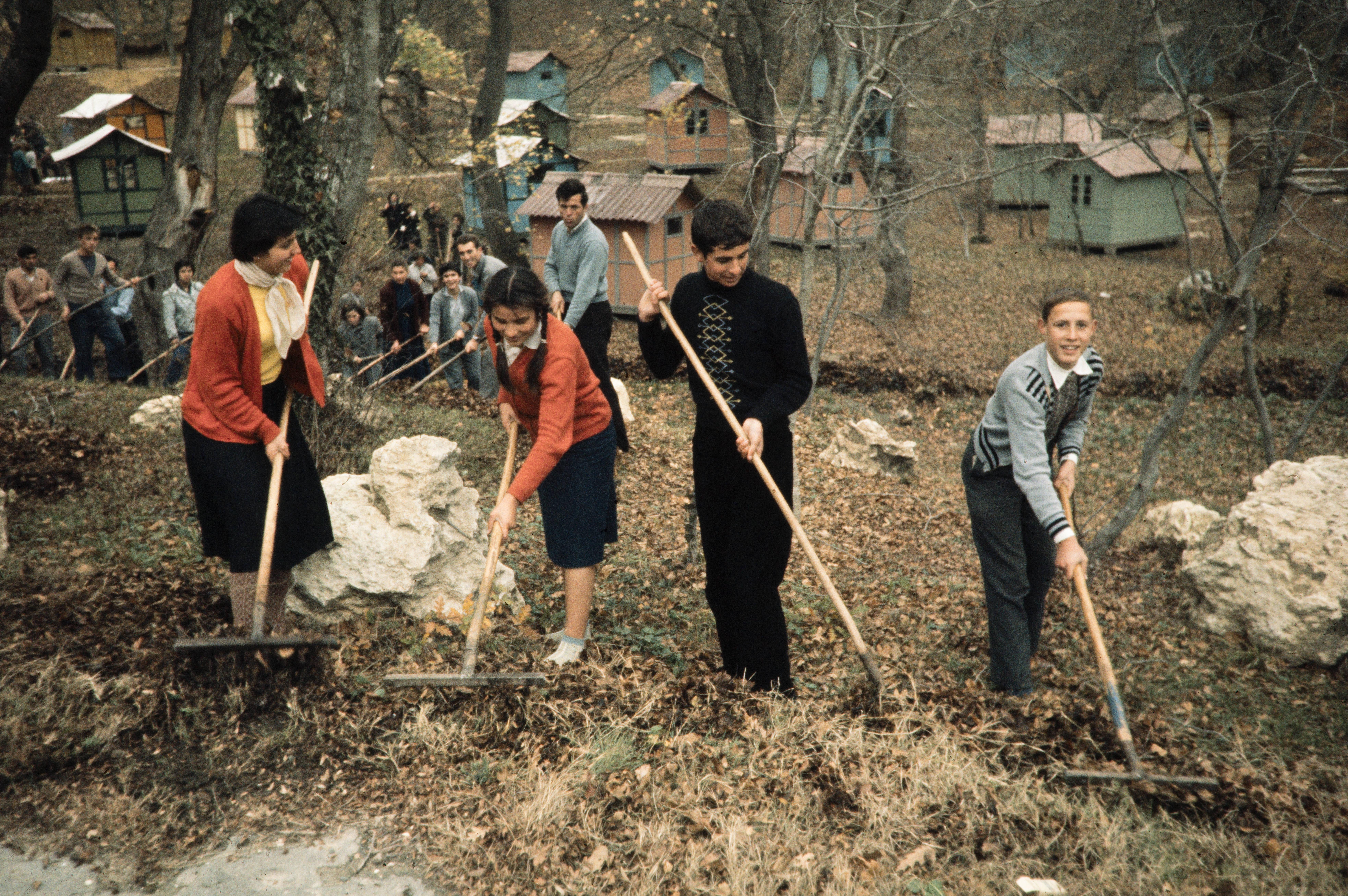 сгребание листьев в лагере молодых пионеров.jpg