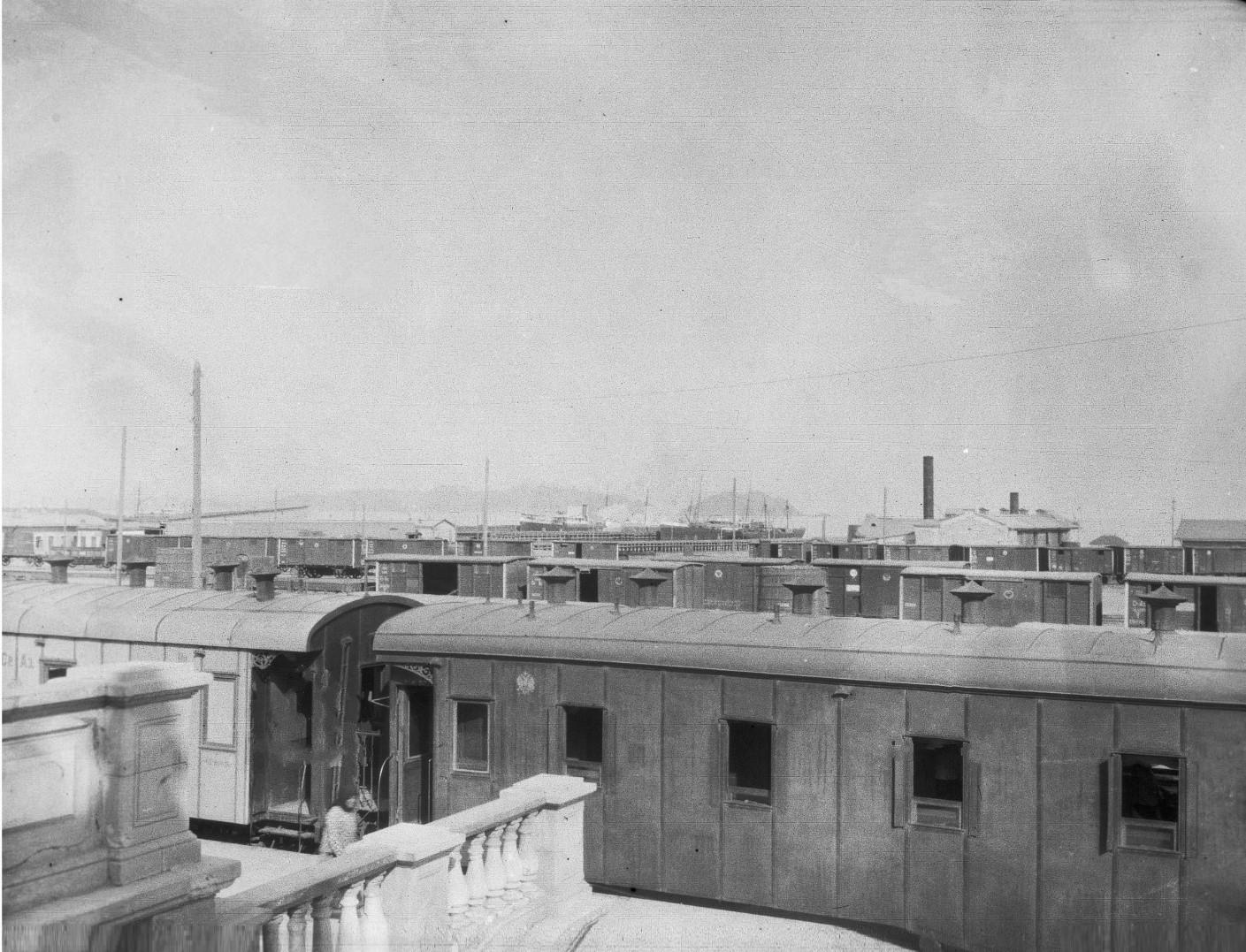 Вид железнодорожной станции