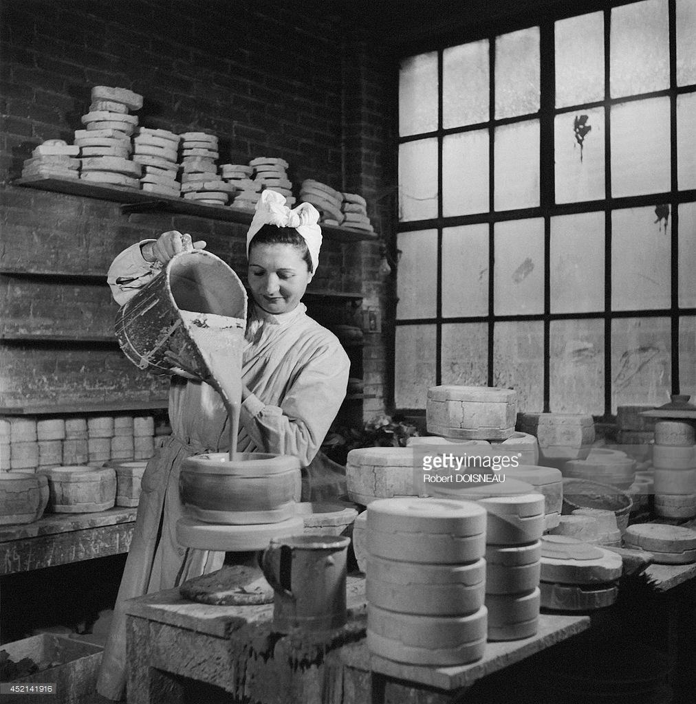 1951. Фарфоровая фабрика Тарауд в Лиможе.jpg
