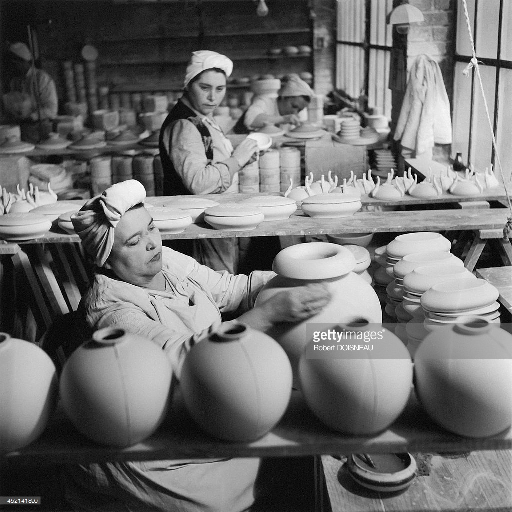 1951. Фарфоровая фабрика Тарауд в Лиможе1.jpg