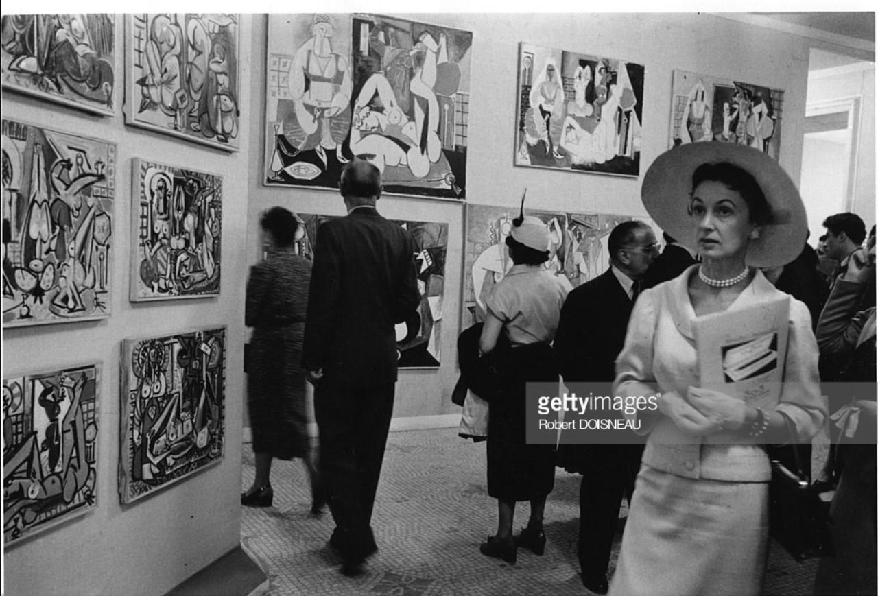 1955. Выставка картин Пикассо в Музее декоративных искусств.jpg