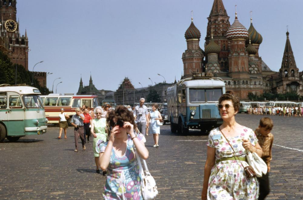 1973. Неизвестный иностранец в Москве. Часть 2