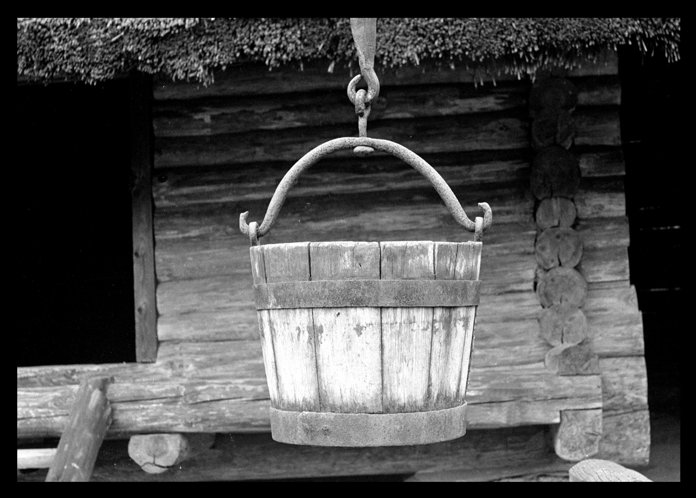 Рига. Ковш для воды в музее под открытым небом.jpg