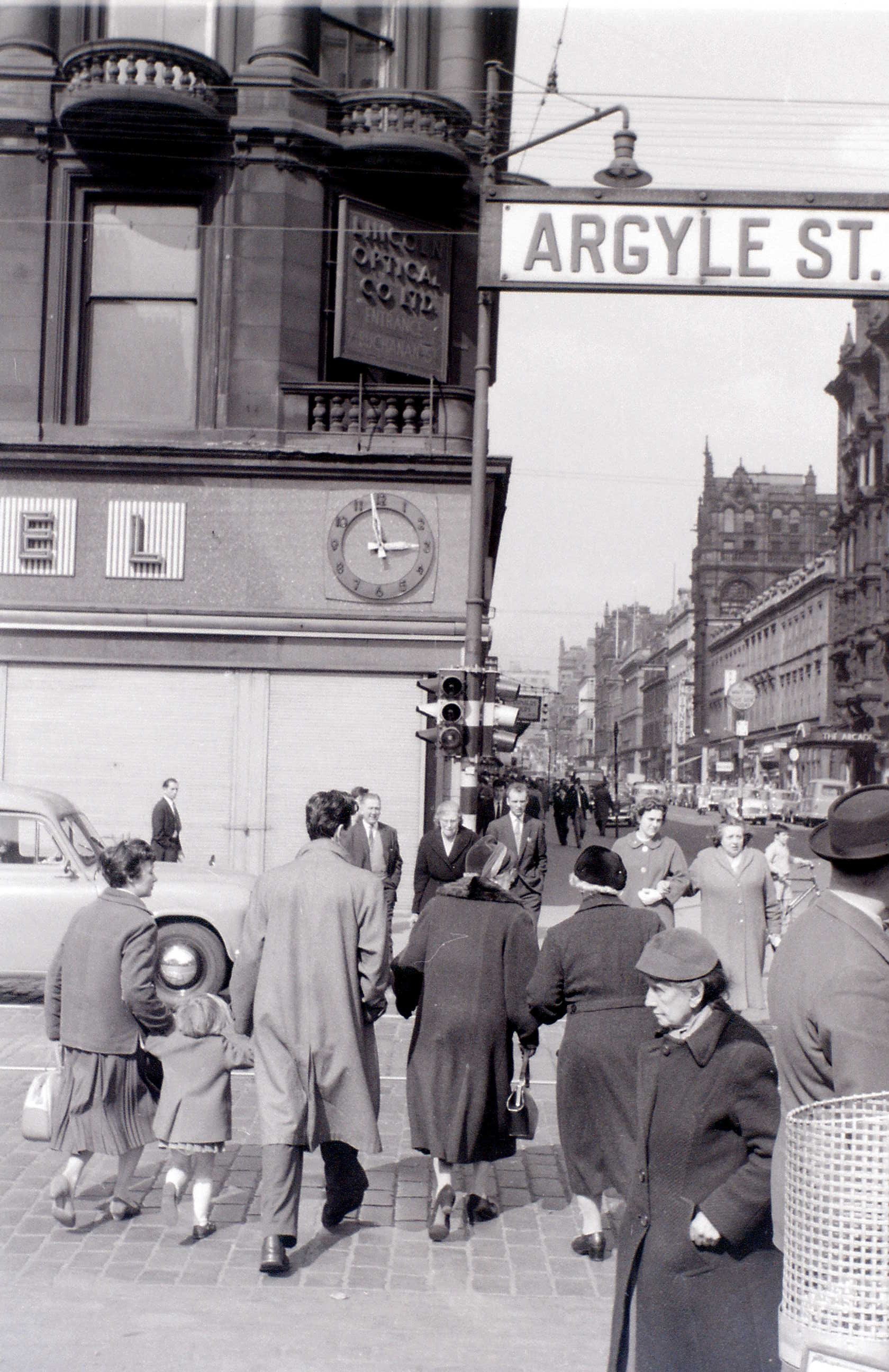 Глазго, 19 апреля 1960. Аргайл-Стрит и Бьюкенен-стрит.jpg
