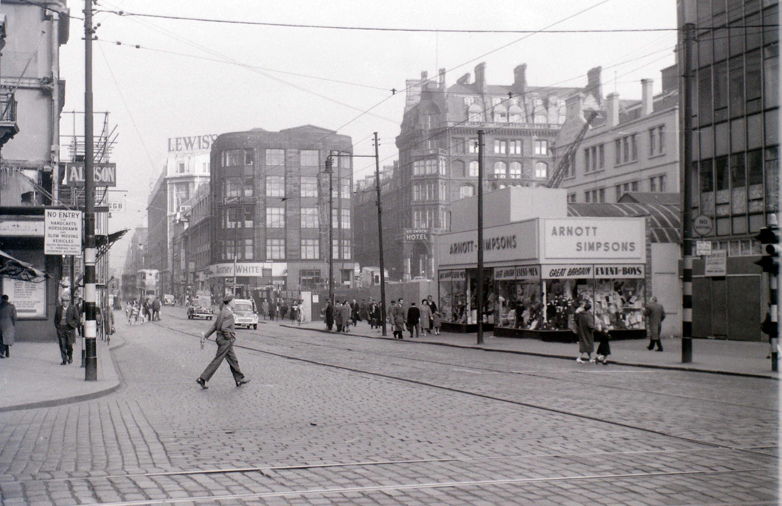 Глазго, 19 апреля 1960. Аргайл-Стрит2.jpg