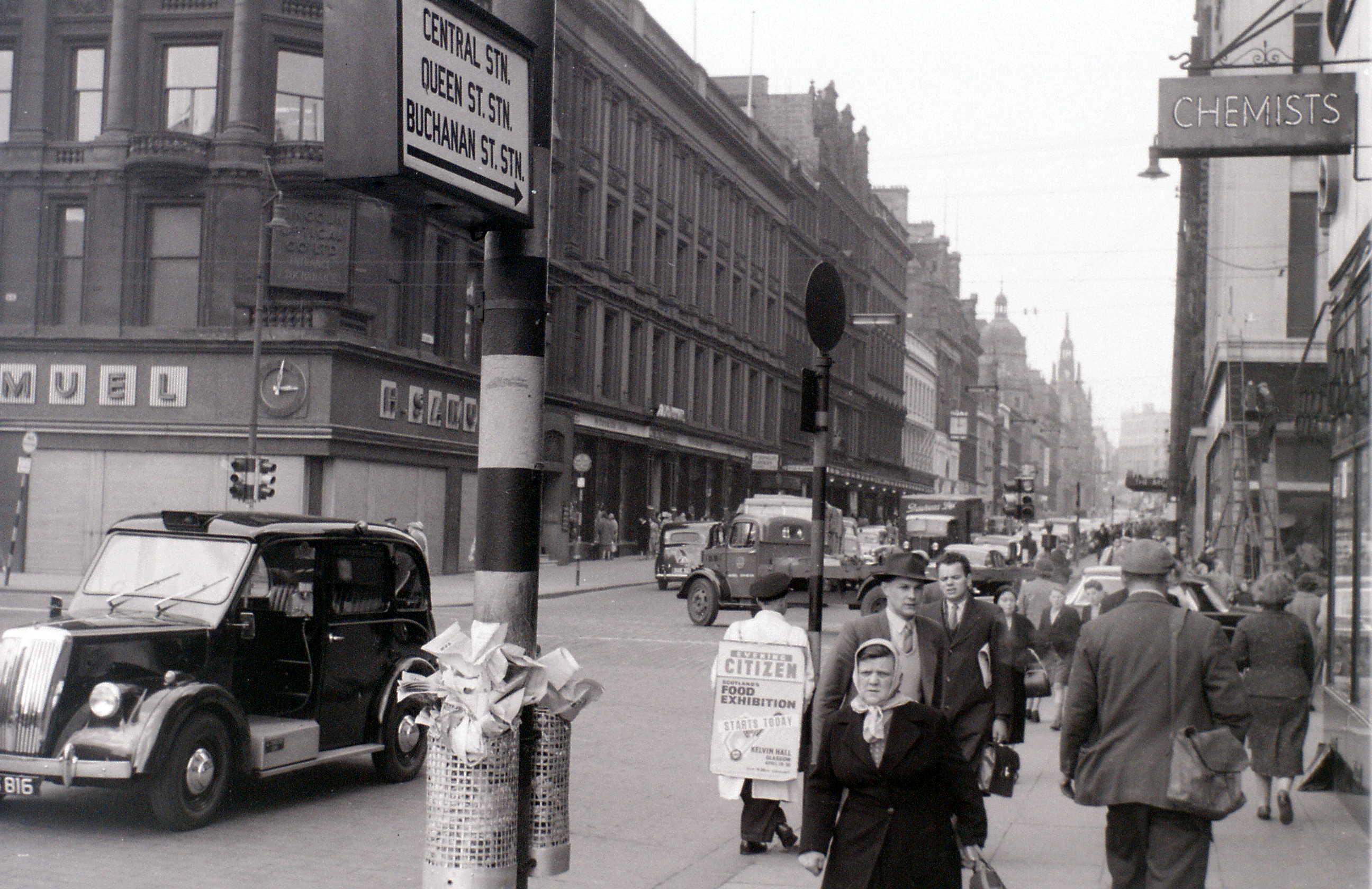 Глазго, 19 апреля 1960. Бьюкенен-стрит.jpg