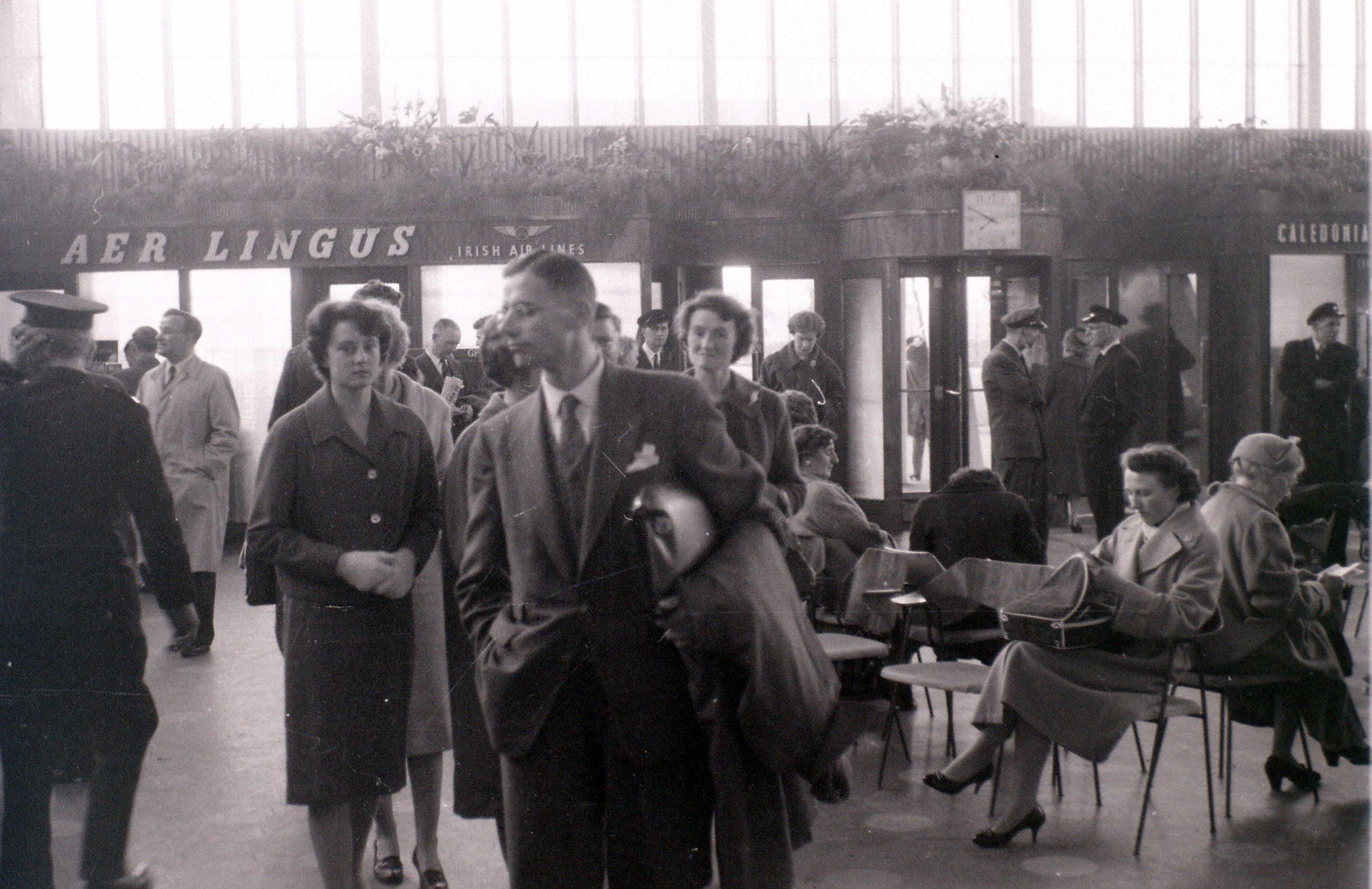 Глазго, 19 апреля 1960. Международный аэропорт Глазго.jpg