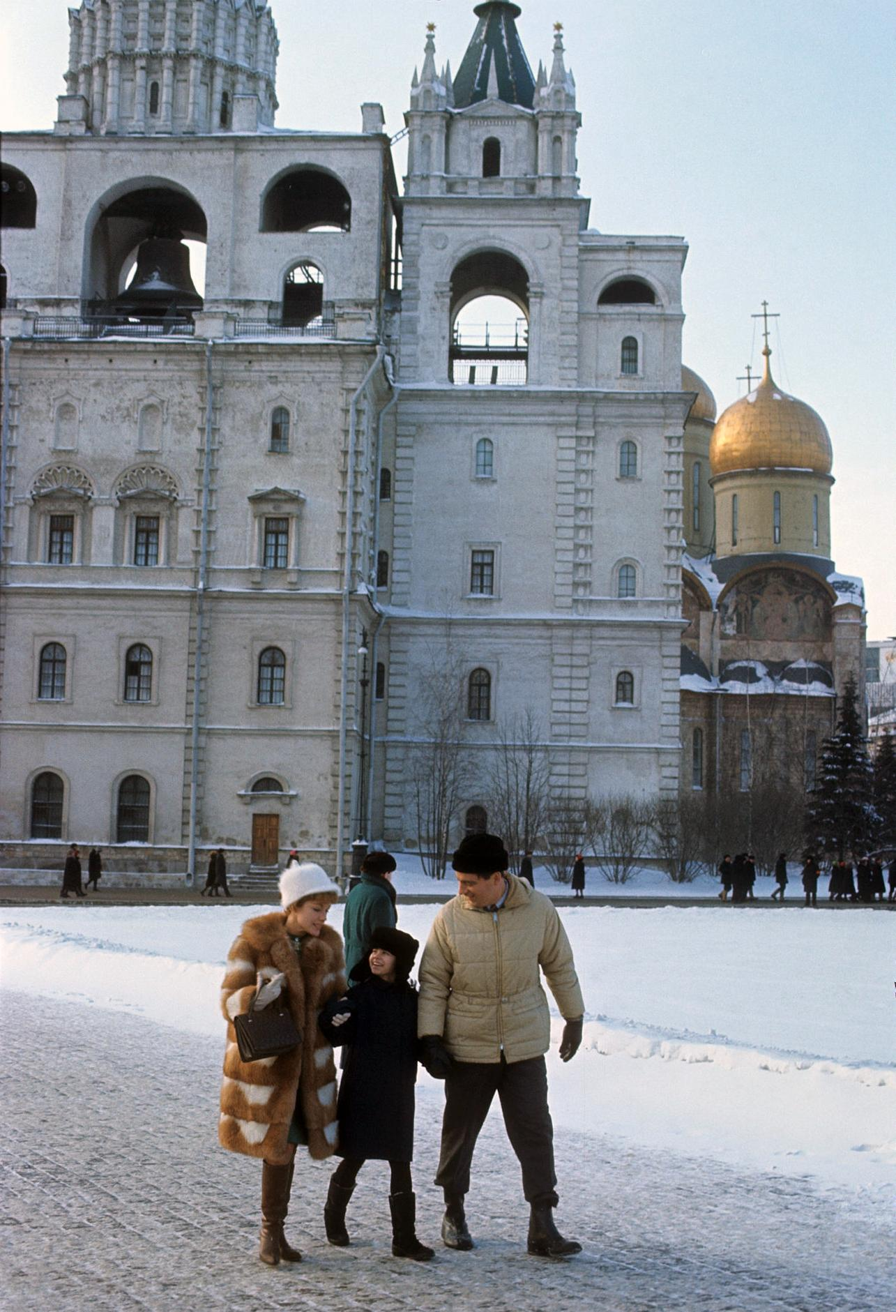 1967. Вирджиния Гибсон и Билл Оуэн в Кремле 12 марта.jpg