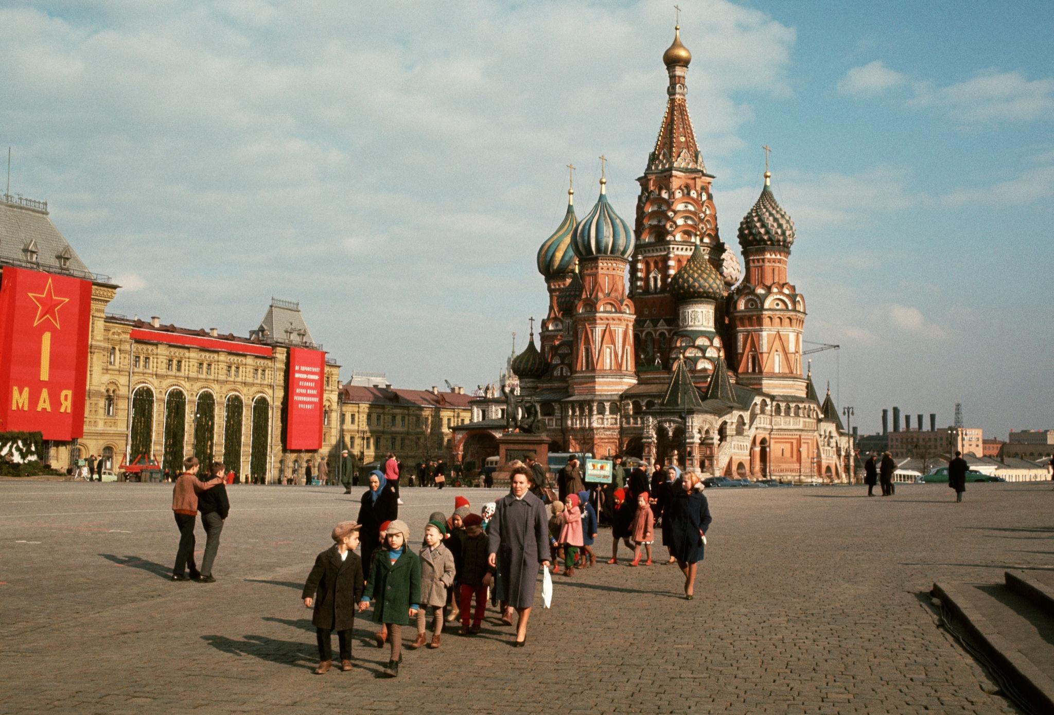Первомай. На Красной площади. 1964.jpg