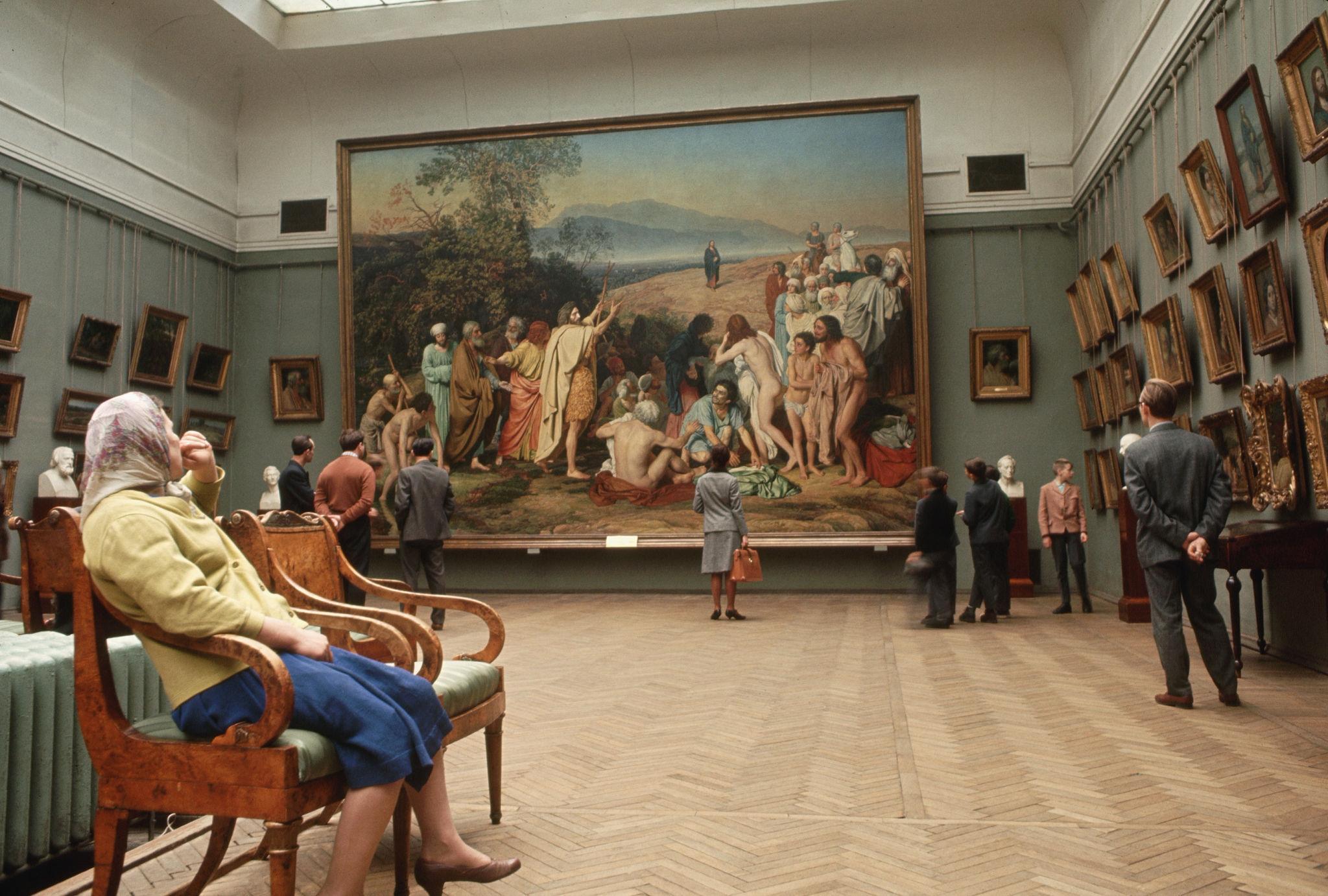 Третьяковская галерея. 1964 (5).jpg