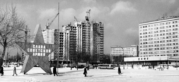 Зимняя Москва 1970-1980-х