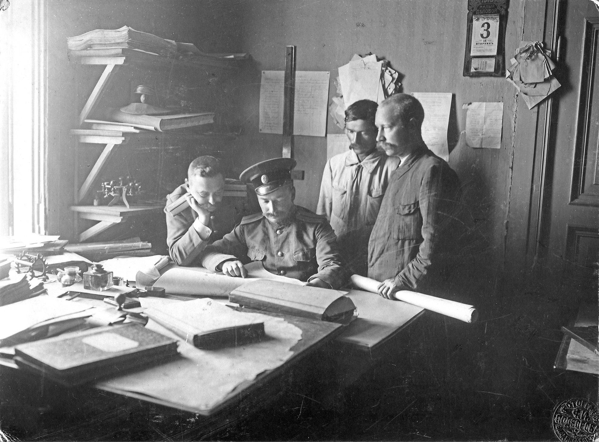 Военный инженер капитан Леонид Леонидович Иванов