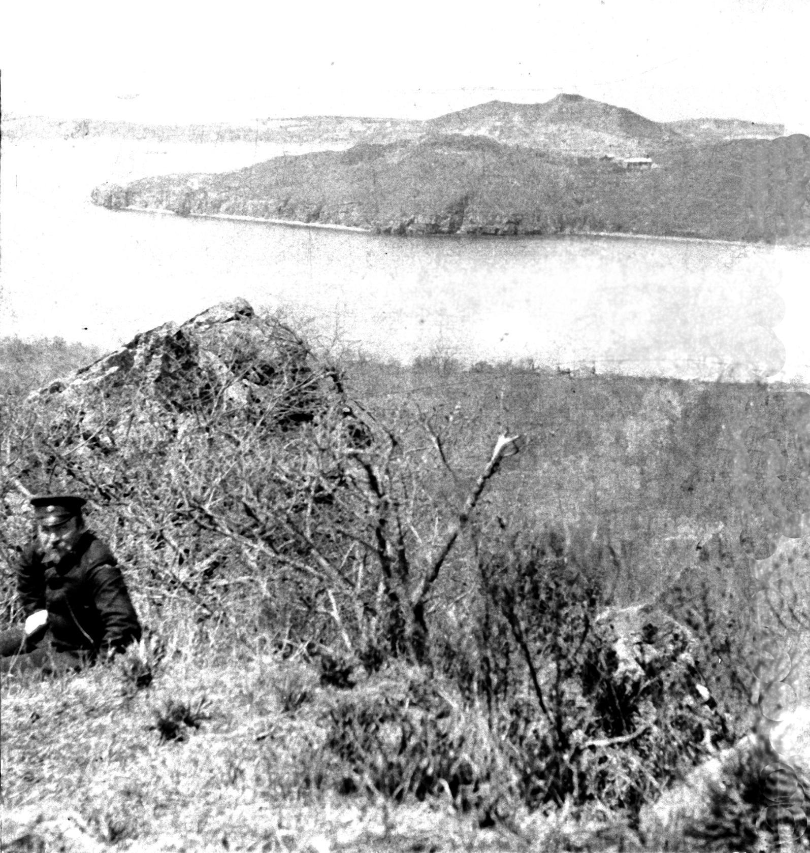 Вид с горы Змеиной. 1904