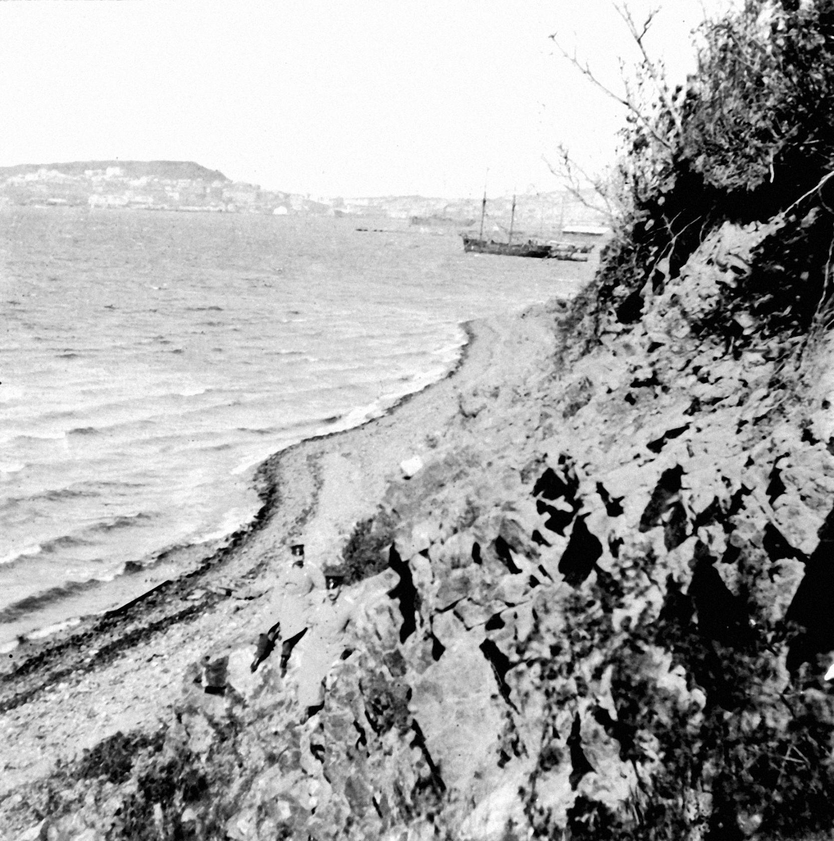 Вид с мыса Чуркина. 1904