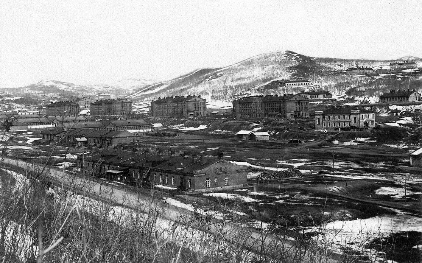Казармы 11-го Сибирского стрелкового полка.