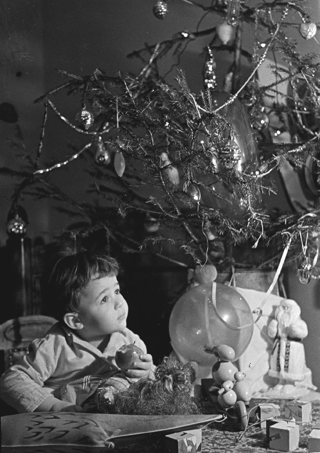 1965. Первая в жизни ёлка. Автор Ф. Гринберг. Январь