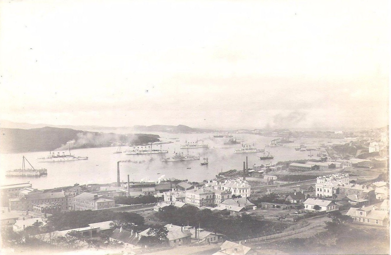 Порт Владивосток. 1903
