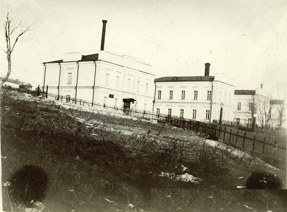 Владивостокский морской новый госпиталь. 1896