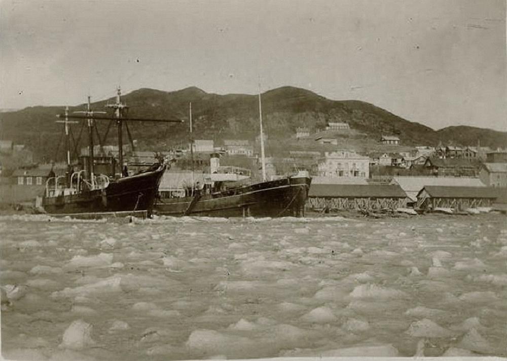 «Тунгус» и «Камчадал» в военном порту. 1896