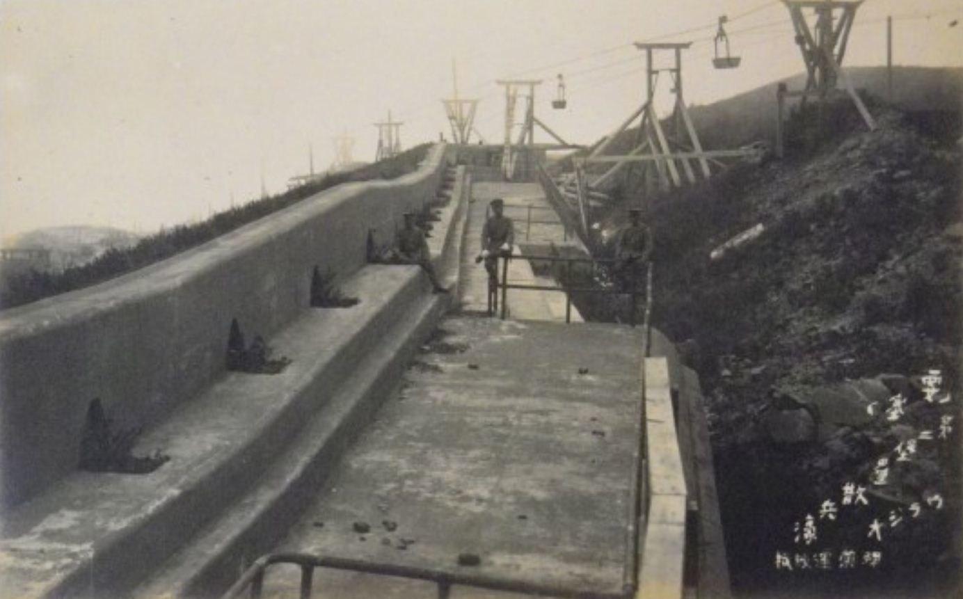 Японцы на форту № 2