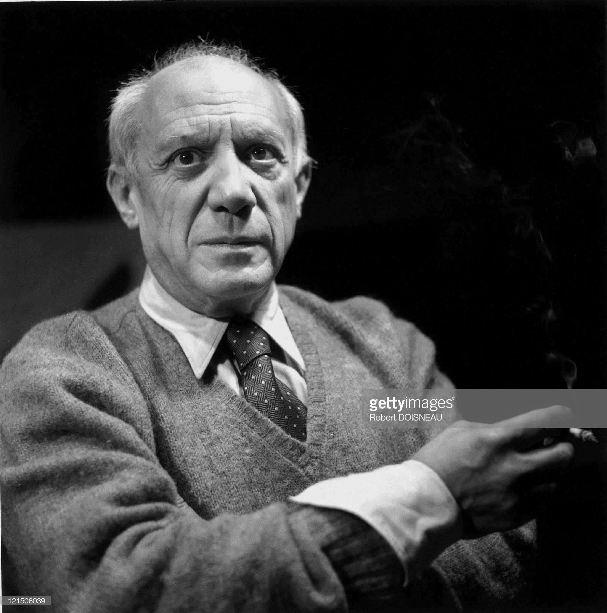 11950. Пабло Пикассо, испанский художник и скульптор