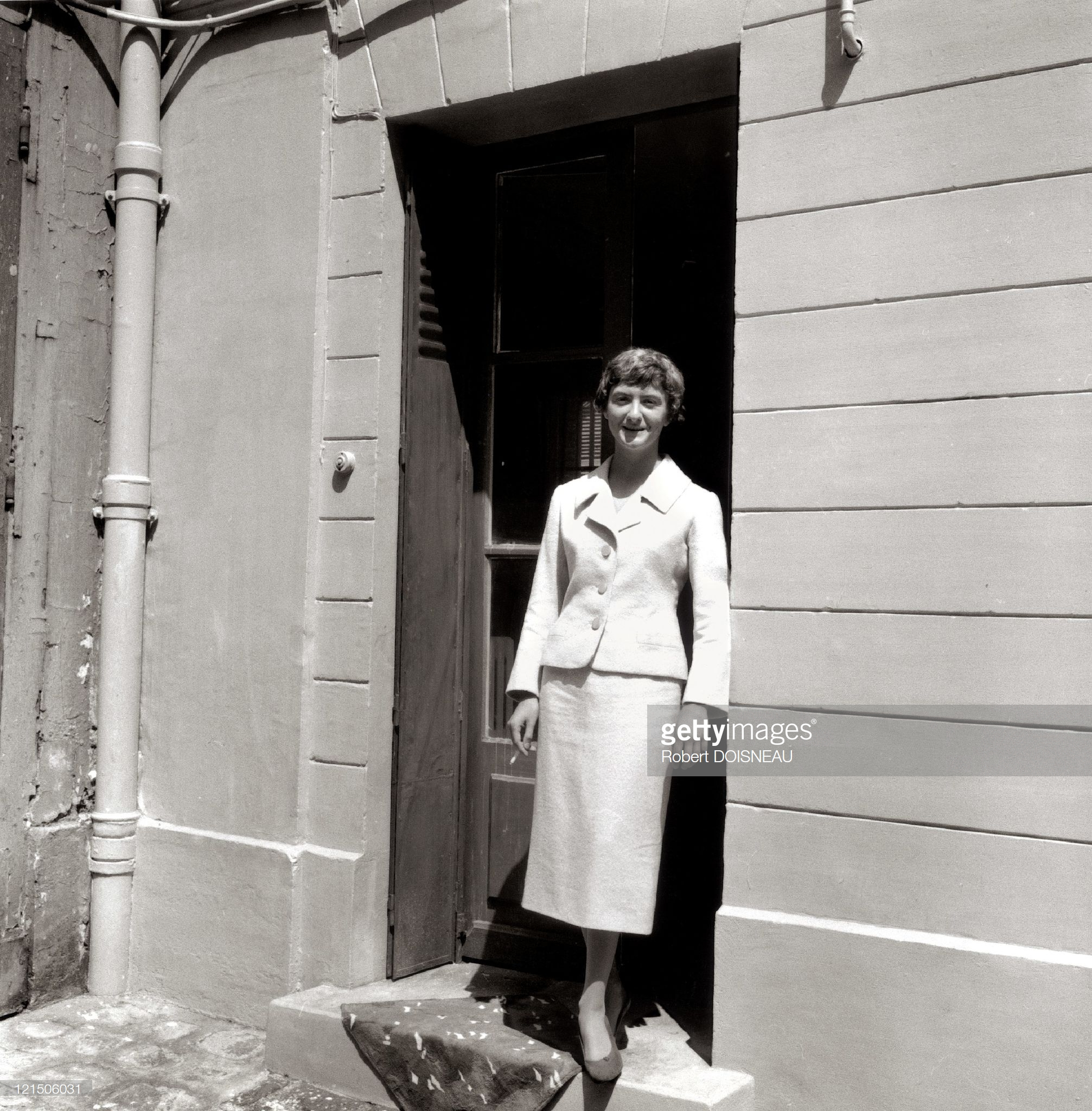 1956. Франсуаза Саган, французская писательница