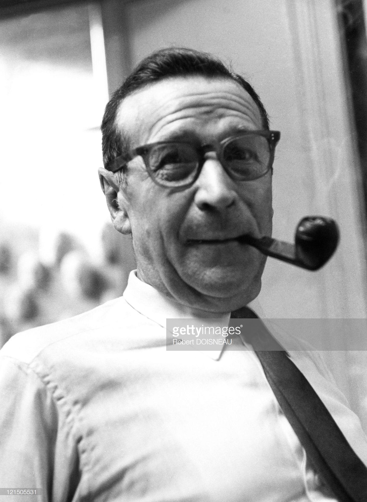 1961. Жорж Сименон, писатель
