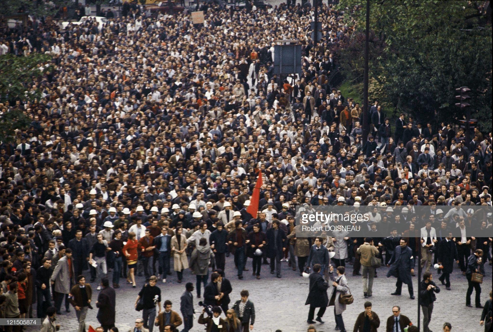 1968. Демонстрация 1 мая