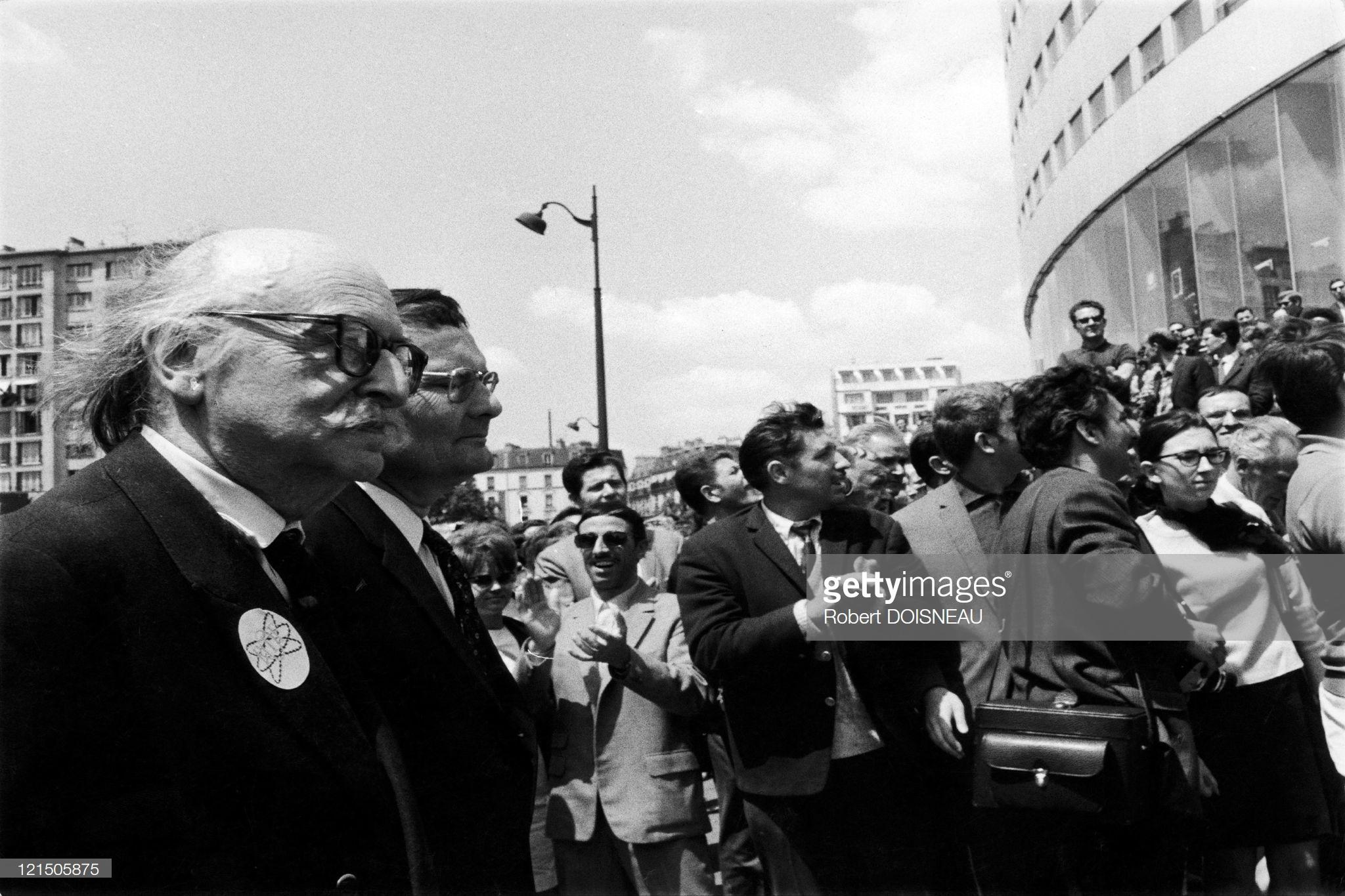 1968. Операция «Иерихон» (всеобщая забастовка), май