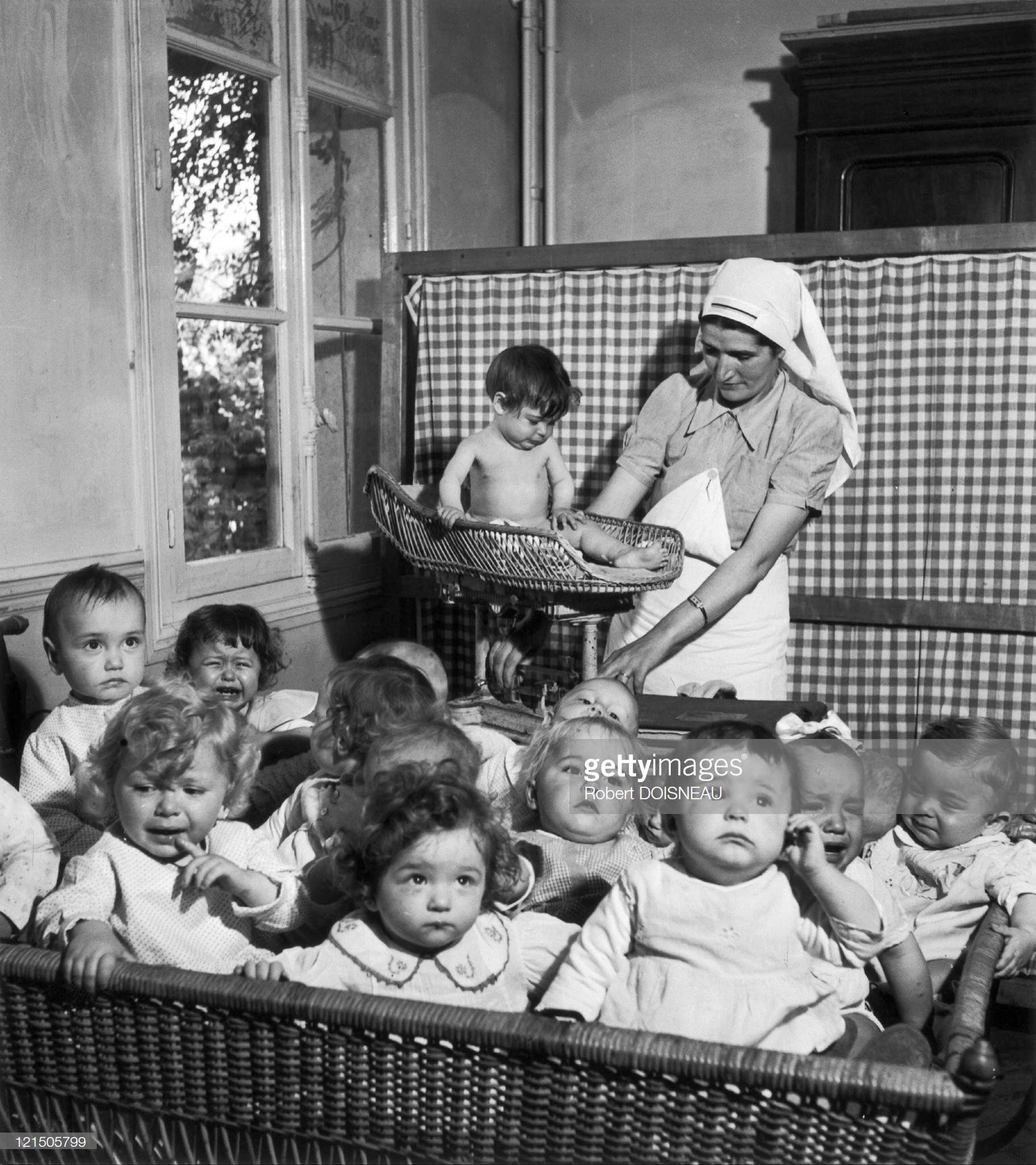 Дневной центр для младенцев, Париж