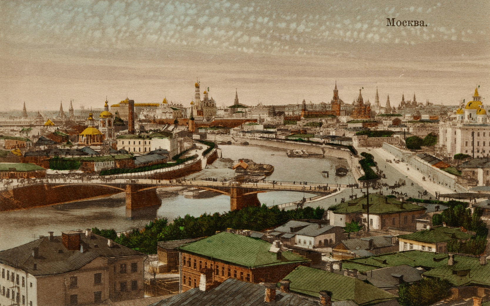Панорама из Заяузья