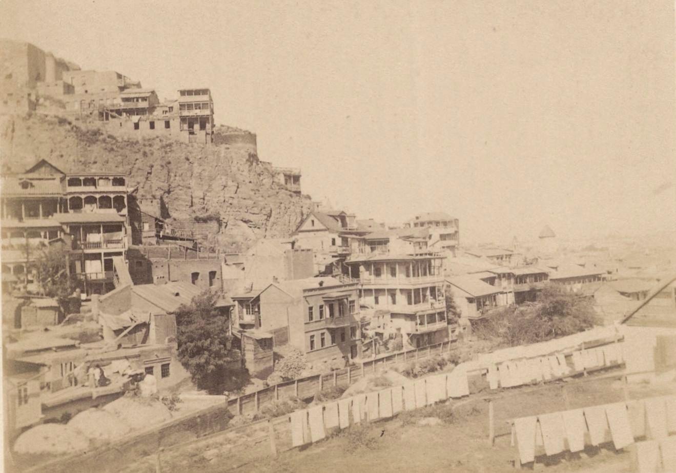 06. Тифлис, вид с крыши персидской бани