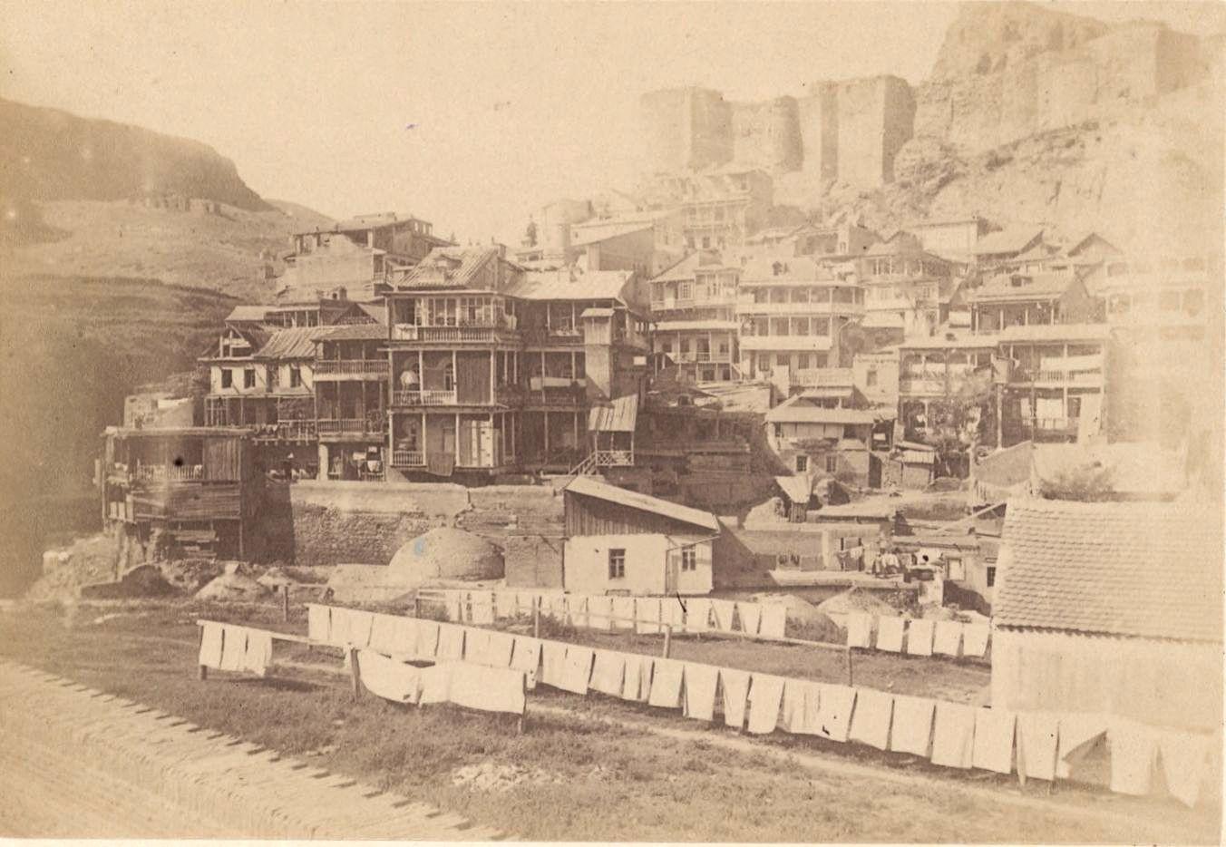 07. Тифлис, вид с крыши персидской бани