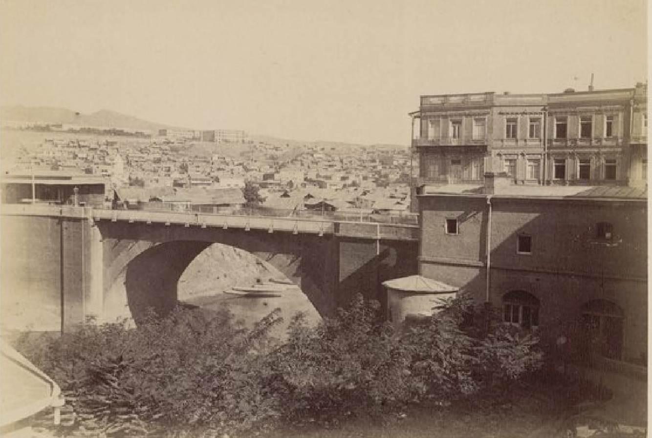 08. Тифлис, мост через Куру