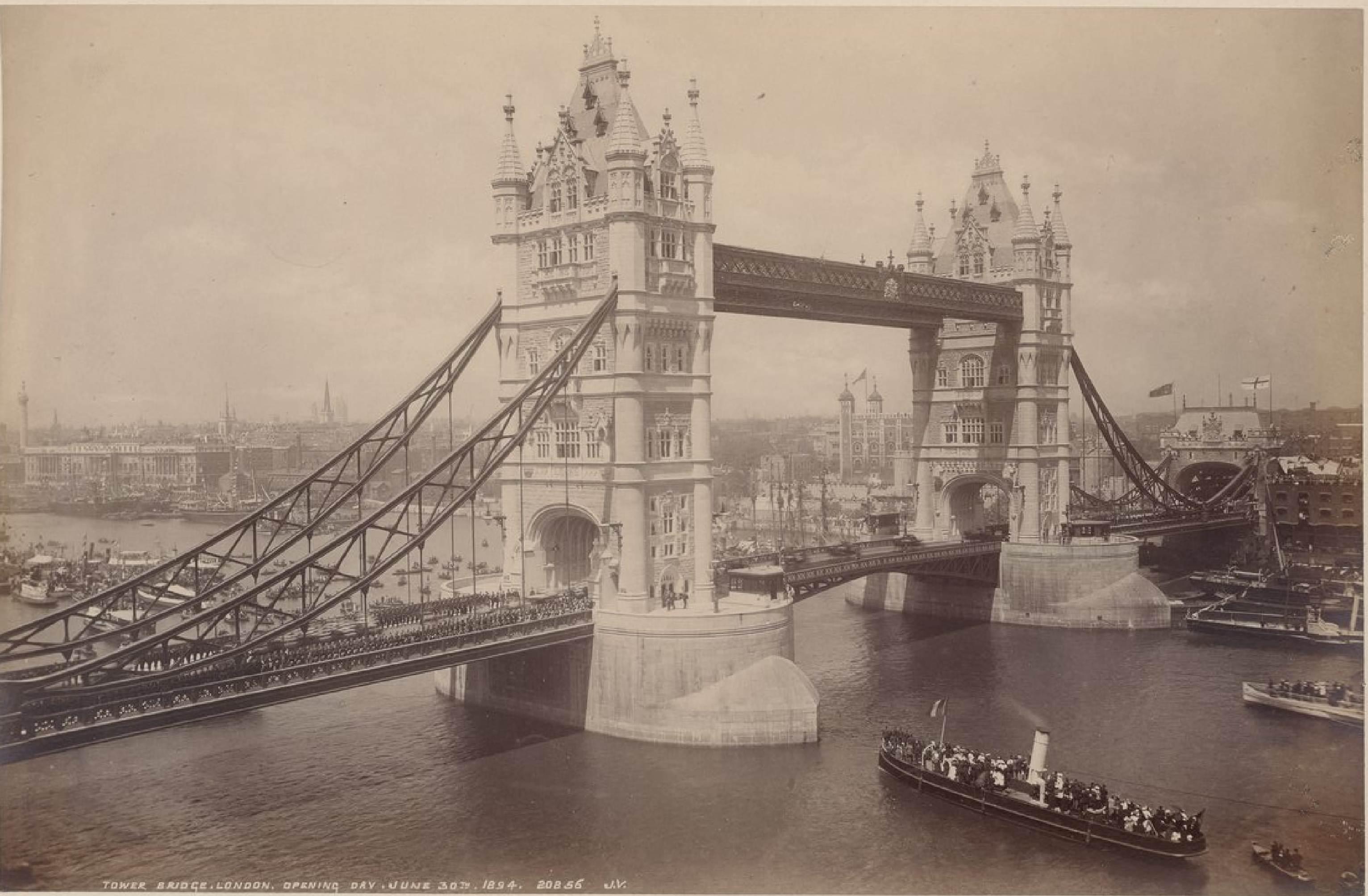 Тауэрский мост, 30 июня 1894 (2)